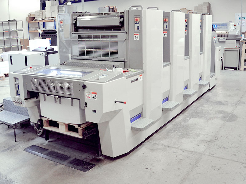 Siebdruck · Offsetdruck · Digitaldruck · Werbetechnik